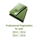 professional registration logo
