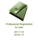 professional registration logo